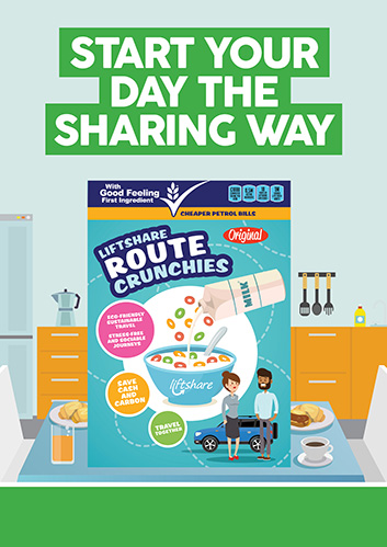 Start your day the sharing way