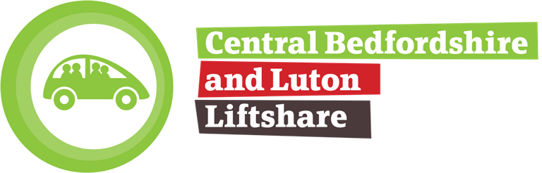 Luton and Central Bedfordshire Liftshare Logo