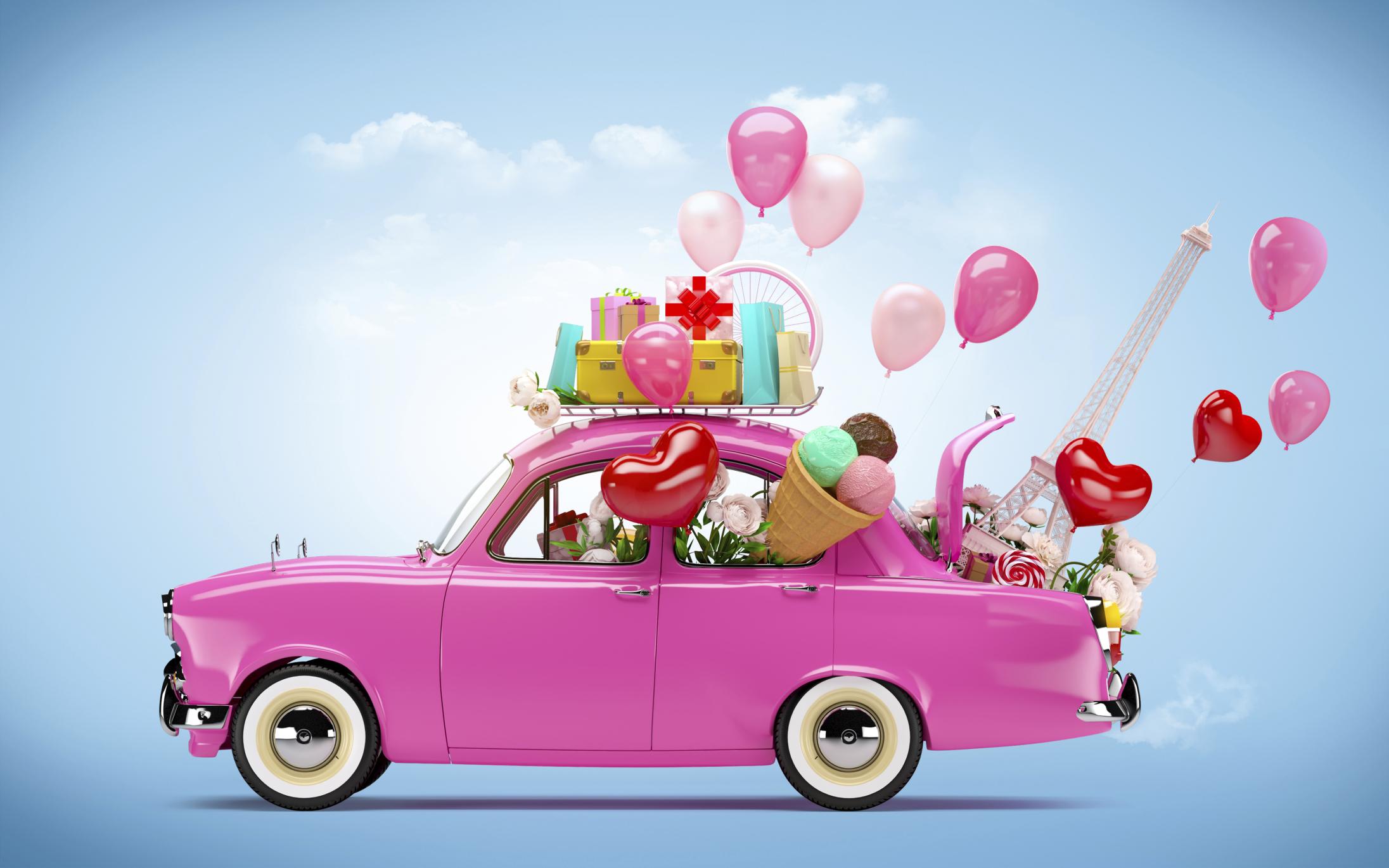 хотите поступить автоледи с цветами картинки меня это