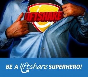 Liftshare Campus Superhero