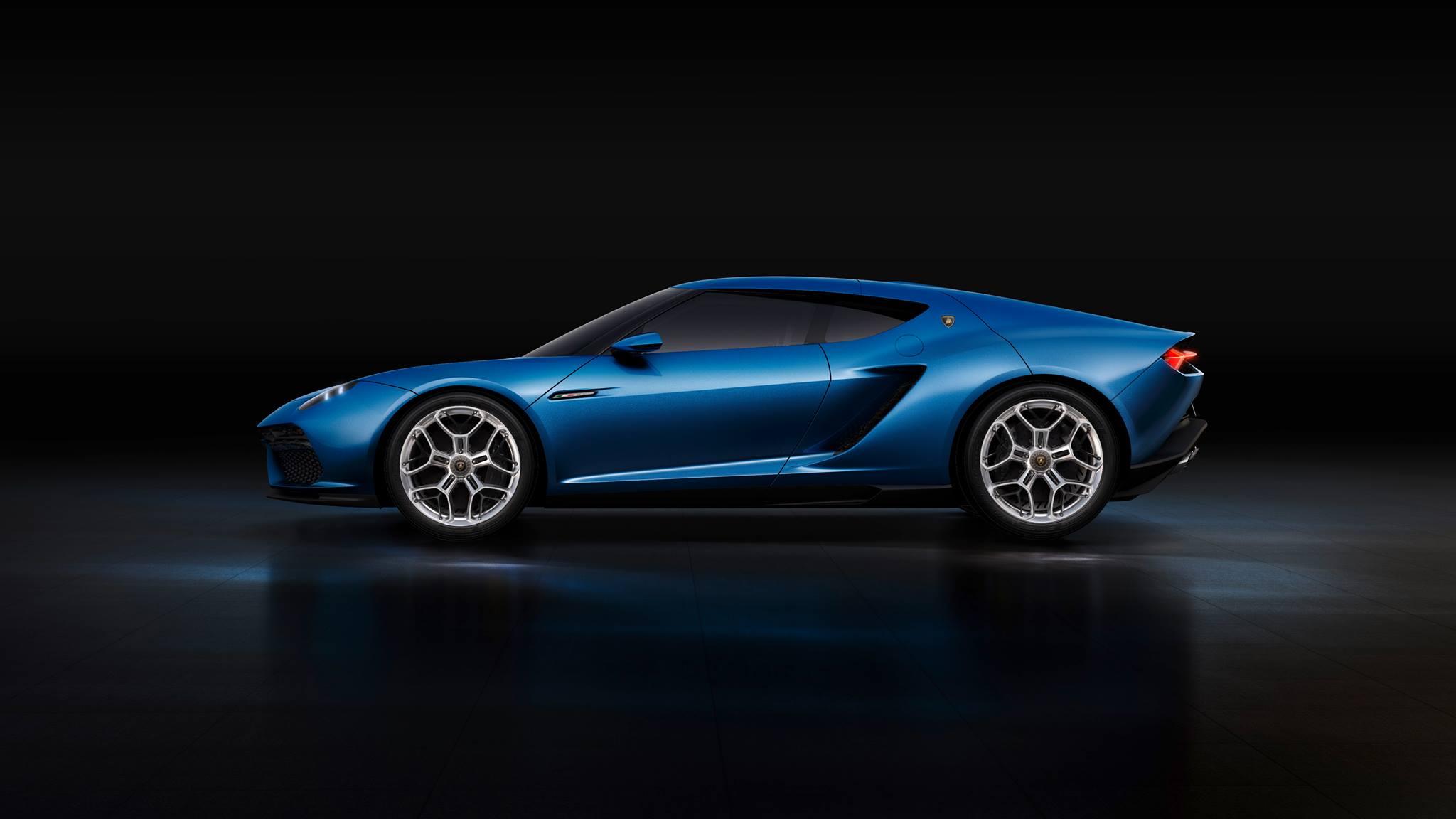 Lamborghini Asterion Hybrid Car