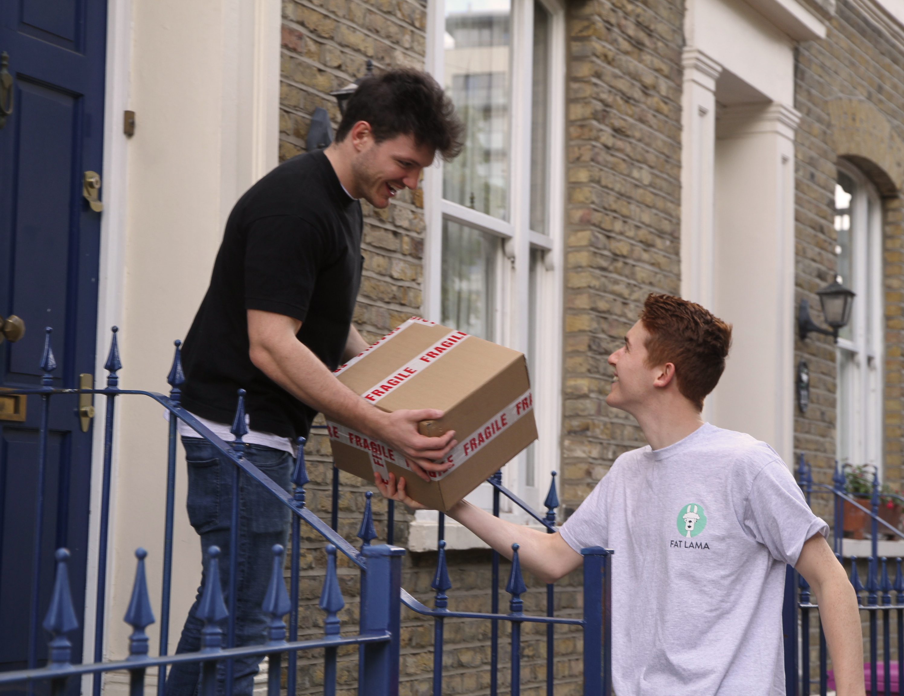 Peer-to-peer delivery; the sharing economy in action
