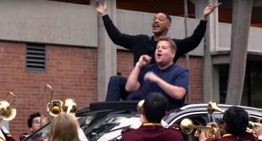 James Corden and Will Smith do Carpool Karaoke