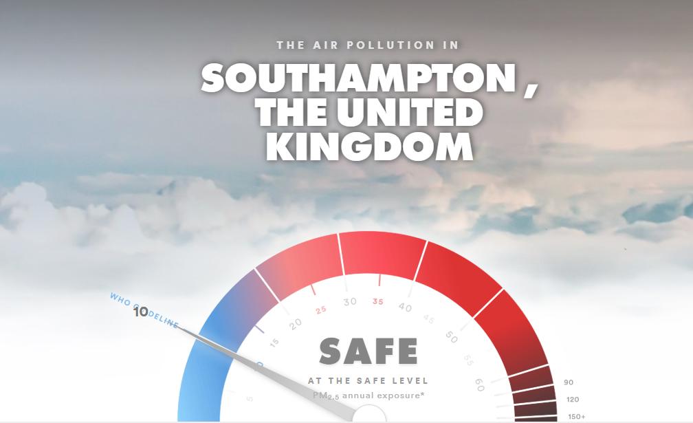 southampton air pol